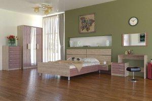 Спальный гарнитур Ванесса 2 - Мебельная фабрика «Д.А.Р. Мебель»
