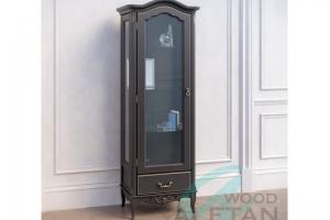 Витрина Французский Прованс 602 BL - Мебельная фабрика «ALETAN wood»