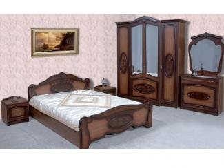 Спальня Валенсия Орех - Мебельная фабрика «Кубань-мебель»