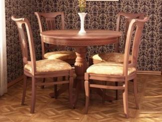 Стол обеденный Альт 9-12 и стул Элегант -16 - Мебельная фабрика «Юта»