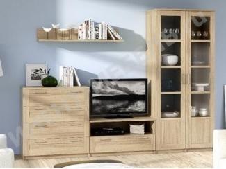 Гостиная Сэндай Композиция 3 - Мебельная фабрика «Континент»