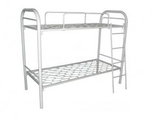 Двухъярусная кровать из металла Фантазия - Мебельная фабрика «Металл конструкция»