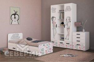 Детская Акварель подростковая модульная - Мебельная фабрика «Северин»