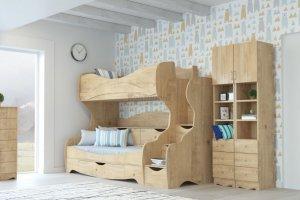 Детская КАРАМЕЛЬ-5 - Мебельная фабрика «Континент-мебель»