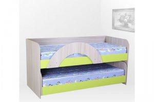 Детская кровать для двоих Матрешка - Мебельная фабрика «Вектор»