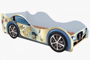 Детская Кровать машина Карта пиратов - Мебельная фабрика «Рим»