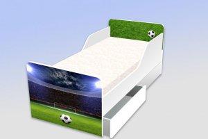 Детская кровать с фотопечатью Футбол - Мебельная фабрика «Рим»