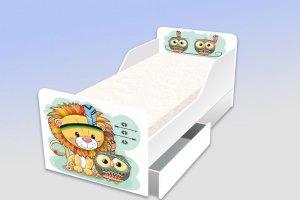Детская кровать серия Милые - Мебельная фабрика «Рим»