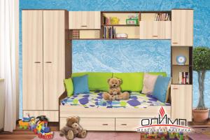 Детская Радуга В-1 - Мебельная фабрика «Олимп»