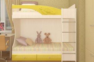 Детская двухъярусная кровать Симба - Мебельная фабрика «Д.А.Р. Мебель»