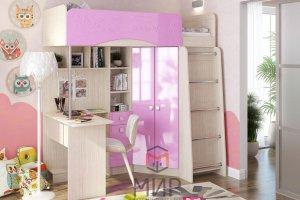 Детский уголок Бемби 4 - Мебельная фабрика «Мир»