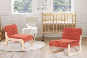 Детское кресло - качалка Балалайка - Мебельная фабрика «Эвальд»