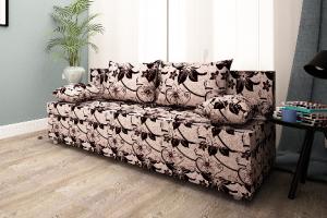 Диван еврокнижка в ткани Рогожка - Мебельная фабрика «Раевская»
