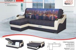 Диван Евроугол Олимп 3 - Мебельная фабрика «Идеал»