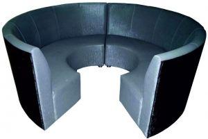 Диван круг 168 - Мебельная фабрика «Мега-Проект»