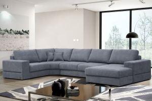 Диван Лоренцо угловой с оттоманкой - Мебельная фабрика «Комфорт Плюс»