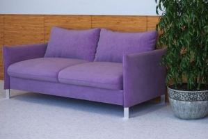 Диван офисный Оптимус 3 - Мебельная фабрика «Элфис»