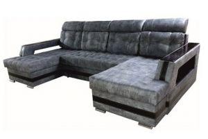 Диван П-образный Уют ППУ или Пружинный блок - Мебельная фабрика «ПЕРСПЕКТИВА»