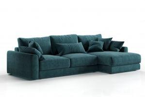 Диван Шерлок с оттоманкой - Мебельная фабрика «CLOUD»