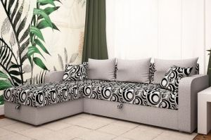 Диван угловой в ткани Рогожка - Мебельная фабрика «Раевская»