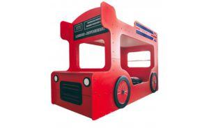 Двухъярусная кровать-автобус Лондон - Мебельная фабрика «Мандарин»