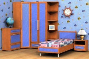 Мебель для детской Алина 2 - Мебельная фабрика «Гермес»