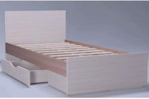 Кровать в спальню Амели 1 с ящиком - Мебельная фабрика «Комодофф»