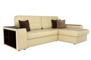Экокожа диван Брюсель бежевый - Мебельная фабрика «Мебелико»