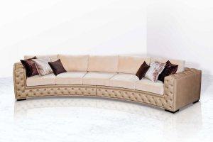 Эркерный диван Монти - Мебельная фабрика «ИСТЕЛИО»