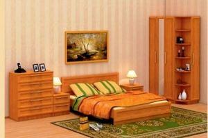 Спальный гарнитур Лира (модульная система) - Мебельная фабрика «Гермес»