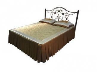 Металлическая двуспальная кровать Олеся-1800 - Мебельная фабрика «Металл конструкция»