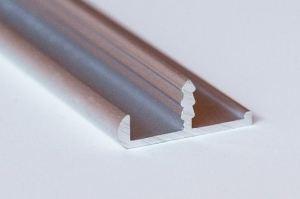 Фасадный рамочный врезной профиль А 016.6 - Оптовый поставщик комплектующих «Хит-Профиль»