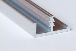 Фасадный рамочный врезной профиль А 017.6 - Оптовый поставщик комплектующих «Хит-Профиль»