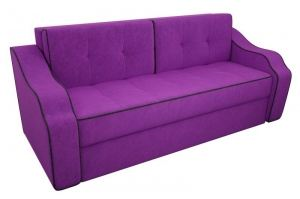 Фиолетовый диван Манчестер вельвет - Мебельная фабрика «Мебелико»