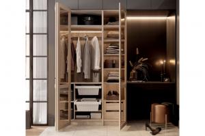 Гардеробный шкаф 12 BASIC/ELITE LINE - Мебельная фабрика «ЗОВ»