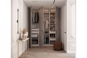 Гардеробный шкаф 13 BASIC/ELITE LINE - Мебельная фабрика «ЗОВ»