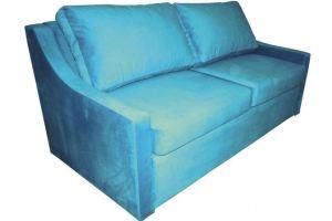 Голубой диван 164 - Мебельная фабрика «Мега-Проект»