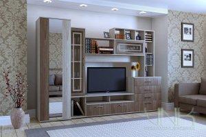 Гостиная модульная Белла - Мебельная фабрика «VNK»