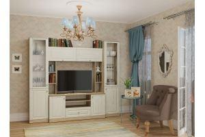 Гостиная модульная ЛАУРА - Мебельная фабрика «Гайвамебель»