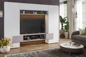 Гостиная Инкастро 2 белый/бетон - Мебельная фабрика «CASE»