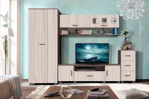 Гостиная модульная Прага-4 - Мебельная фабрика «Олимп»