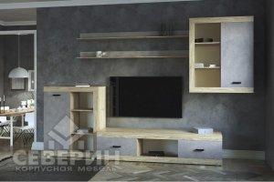Гостиная Ронда бетон - Мебельная фабрика «Северин»
