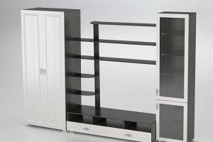 Гостиная стенка Венеция 4 - Мебельная фабрика «Комодофф»