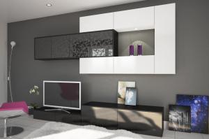 Гостиная в современном стиле Тренто 4 - Мебельная фабрика «ЛЕКО»