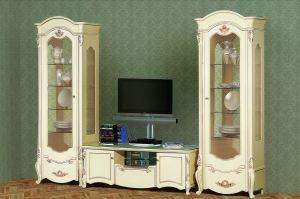 Гостиная Афина ТВ Слоновая Кость - Мебельная фабрика «Кубань-мебель»