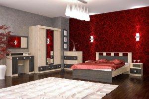 Спальный гарнитур Гретта 3 - Мебельная фабрика «Д.А.Р. Мебель»