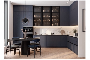 Кухня Индиго Indigo - Мебельная фабрика «ЗОВ»