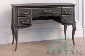 Кабинетный стол узкий 704BL - Мебельная фабрика «ALETAN wood»