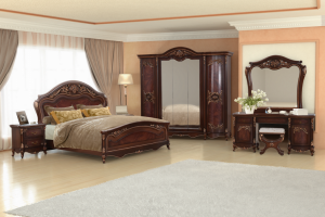 Спальня Донателла Орех - Мебельная фабрика «Кубань-Мебель»