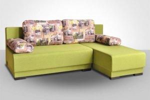 Диван с оттоманкой Комбо-1 МДУ - Мебельная фабрика «Славянская мебель»